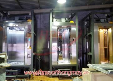 Một số hình ảnh mẫu thang máy lắp đặt tại nhà máy Hải Phú Minh
