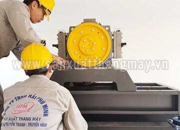 Một số hình ảnh thi công lắp đặt thang máy Hải Phú Minh
